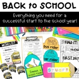 Back to School Basics EVERYTHING you need to kick off the year