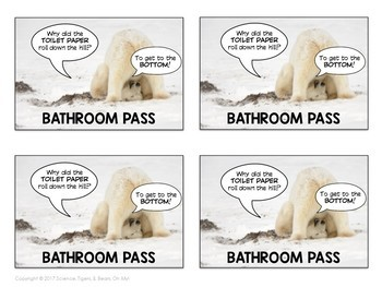 Bathroom Passes - Volume One