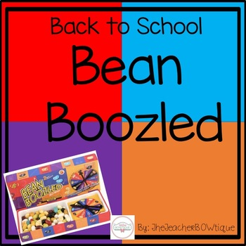 Back to School Bean Boozled