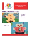 Back to School Bear Art Project