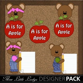 Back to School Bears-Light
