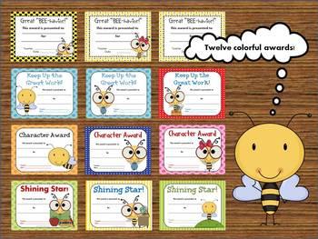 Back to School Bee Theme Mega Bundle
