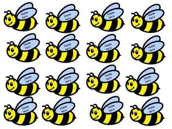 Back to School Bee Themed Classroom Birthday Display