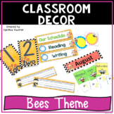 Back to School Classroom Decor Bees