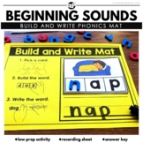 Beginning and Ending Sounds Phonics Cards