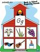 Back to School Beginning Sounds - Letter G