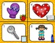 Back to School Beginning Sounds Scoot/ Write the Room (Letters A-M)