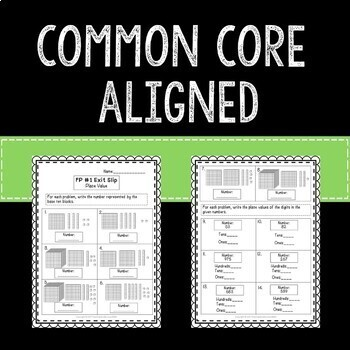 Back to School Beginning of the Year Math Exit Slips 3rd Grade Common Core