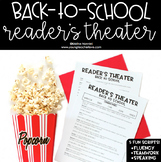 Back to School Activities First Day of School Reader's The