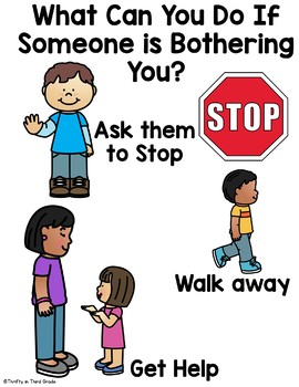 Back to School Behavior Book -Anti-Bullying