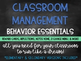 Classroom Management & Behavior Basics: Behavior Essential