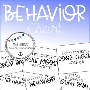 Back to School Behavior Chart