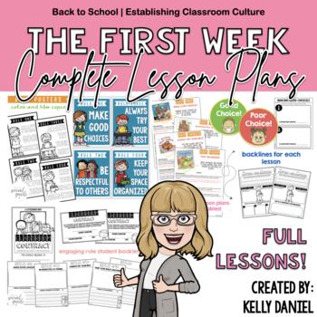 The First Week: Behavior Management Pack