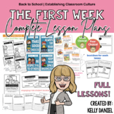 The First Week: Complete Lesson Plans | Back to School