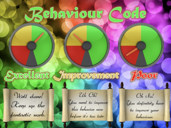 Back to School - Behaviour-O-Meter