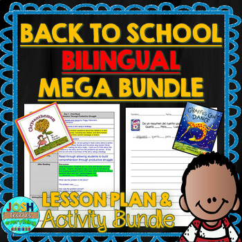 back to school bilingual read alouds spanish lesson plans google activities. Black Bedroom Furniture Sets. Home Design Ideas
