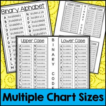 Back to School Binary Code STEM Activities