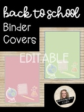 Back to School Binder Covers