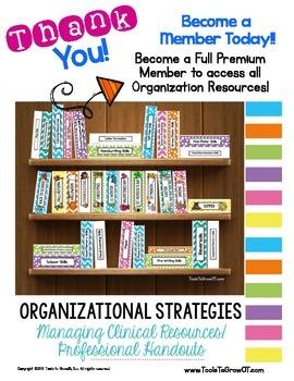 Back to School Binder Organization!