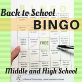 Back to School Activity - Bingo