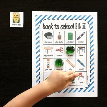 Back to School Bingo - Class Set