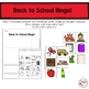 Back to School Bingo Game- Cut and Paste Student Created Bingo Cards