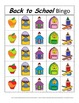 Back to School Bingo! A Speech and Language Re-enforcement Activity