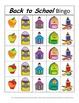 Back to School Bingo! A Speech and Language Re-enforcement