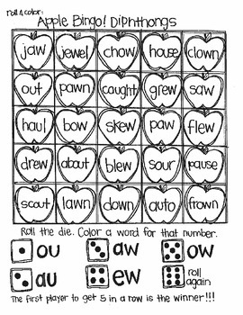 Back to School Bingo:  Advanced Sounds