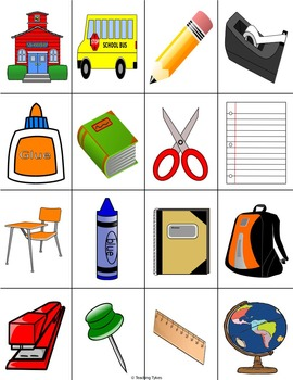 Back to School Bingo FREEBIE