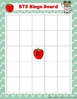 Back to School Bingo (Freebie)