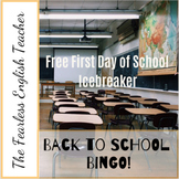 Back to School Bingo IceBreaker