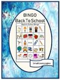 Back to School Bingo Special Education Activity, Printable BINGO Games