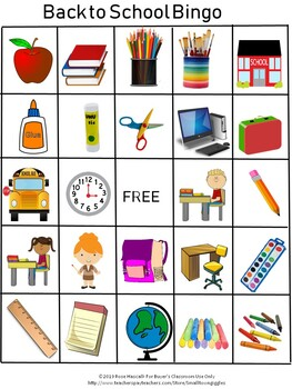 graphic relating to Back to School Bingo Printable identify Back again in the direction of Faculty Bingo Unique Instruction Game, Printable BINGO Game titles
