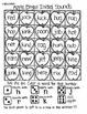 Back to School Bingo:  Simple Sounds