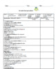 Back to School Biweekly Participation Sheet for All Subjects