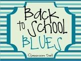 Back to School Blues {Classroom Decor}
