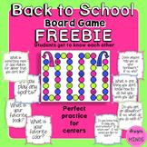 Back to School Board Game- FREEBIE