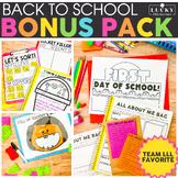 Back to School Bonus Pack