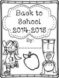 Back to School Book 2014