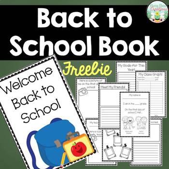 Back to School Book - Freebie