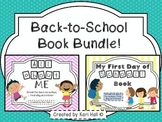 Back-to-School Book Bundle (All About Me & My First Day of School)