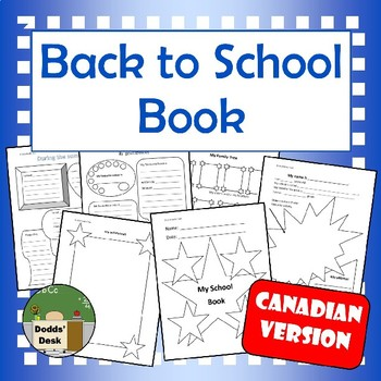Back to School Book (Canadian version)