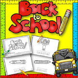 Back to School Book {For Kindergarten and 1st Grade}