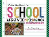 Back to School Book: Paper Bag