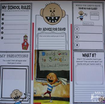 Back to School Book Study Bundle | Book Studies, Craftivities, Class Books
