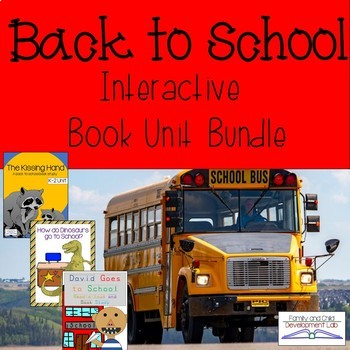 Back to School Book Unit Bundle