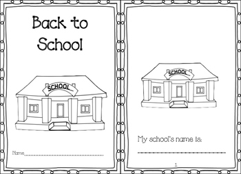 Back to School Book and Crown