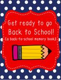 Back to School Book (first week activities)