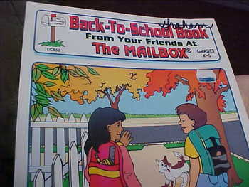 Back to School Book from your friends at the Mailbox